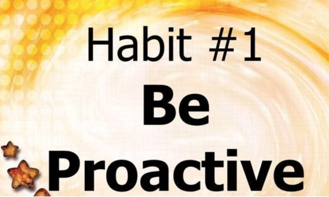 One of the 7 habits of highly effective people.